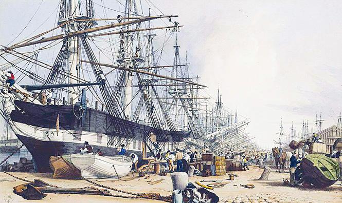Самый передовой способ в XIX веке добраться до Индии
