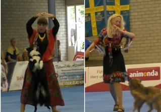 Полюбуйся на финалистов чемпионата мира по танцам с собаками! ВИДЕО