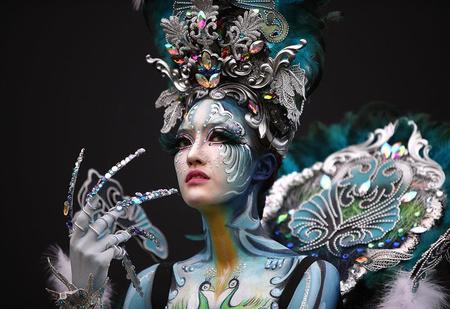В Южной Корее прошёл фестиваль боди-арта (галерея)