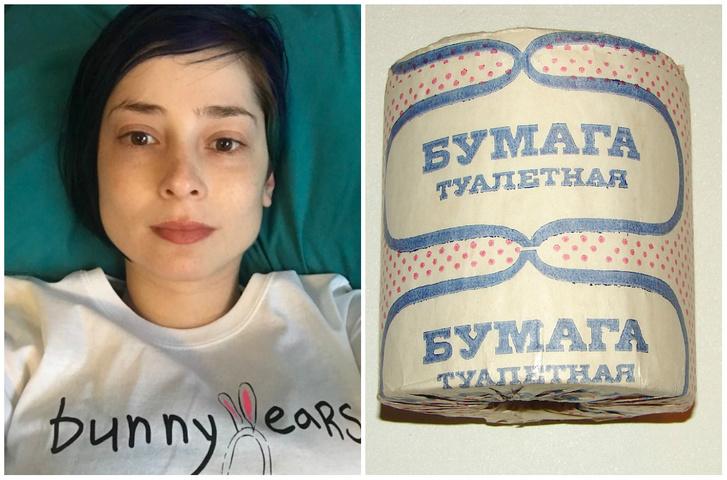 Фото №1 - Фото девушки из «Тиндера» вызвало горячий спор о туалетной бумаге