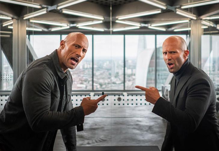 Фото №1 - Стейтем и Скала побеждают зло (то есть Идриса Эльбу) в трейлере «Форсаж: Хоббс и Шоу»