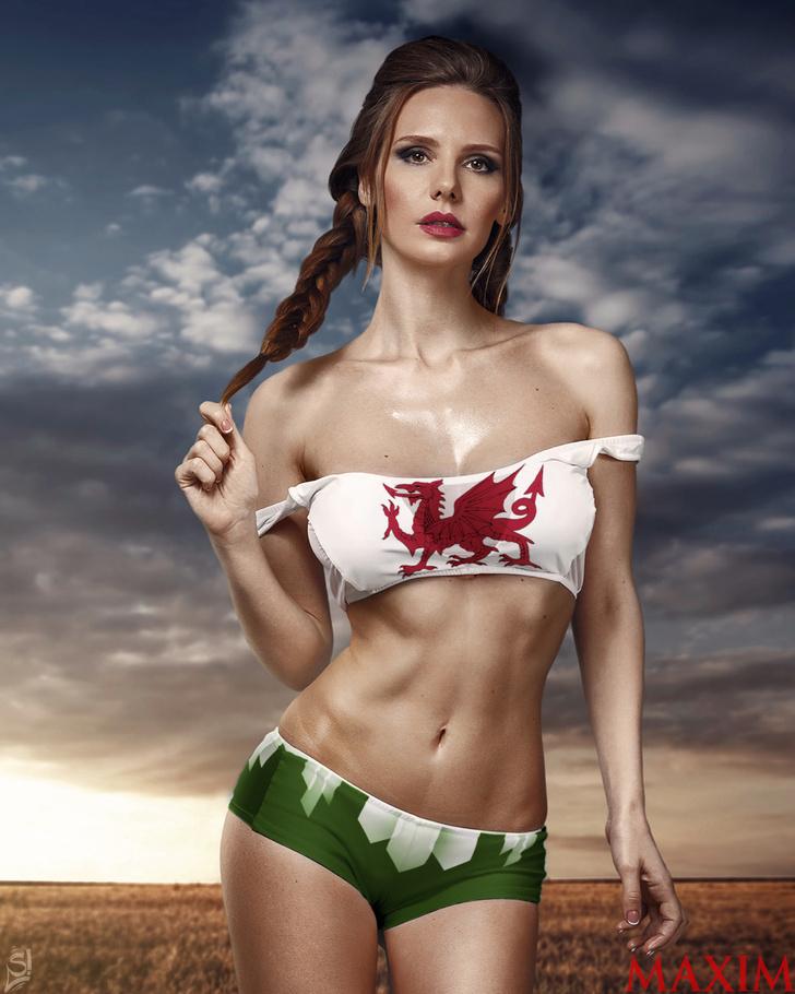 Чемпионат Европы по футболу–2016: краткий обзор команд-участниц группы B — с моделями вместо скучных иллюстраций! Уэльс