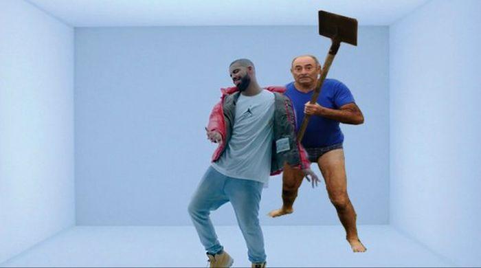 Фото №17 - Герой Интернета: мужик с лопатой и в трусах