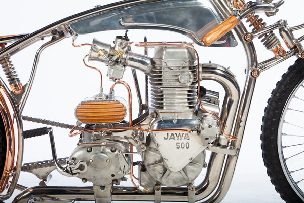 Jawa 500, мастерская Zillers Garage, фото 1