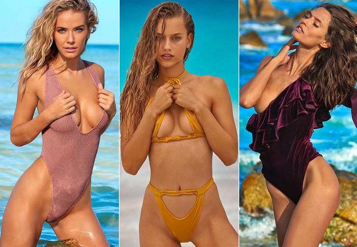 Фото №1 - Все модели из пляжного номера Sports Illustrated