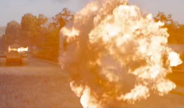 Фото №1 - Баста и Пелагея в боевитом клипе на саундтрек потенциального блокбастера «Т-34»