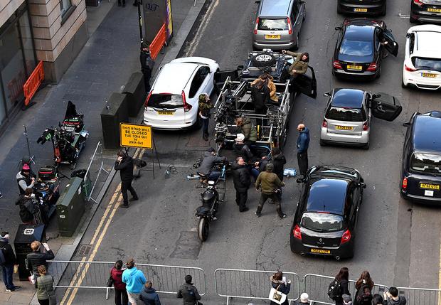 Фото №2 - В Глазго сотни водителей получили штрафы из-за фильма с Джейсоном Стейтемом