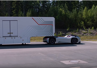 Концерн Volvo разработал очень забавный беспилотный тягач