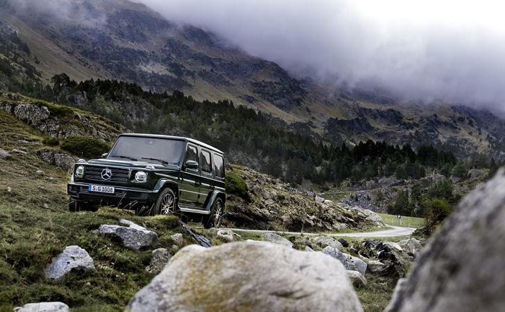Фото №1 - Внедорожник Mercedes-Benz G-Класса: хорош, как никогда раньше