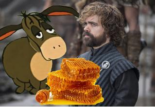 Вот как заканчивался анекдот Тириона Ланнистера про осла и медовые соты