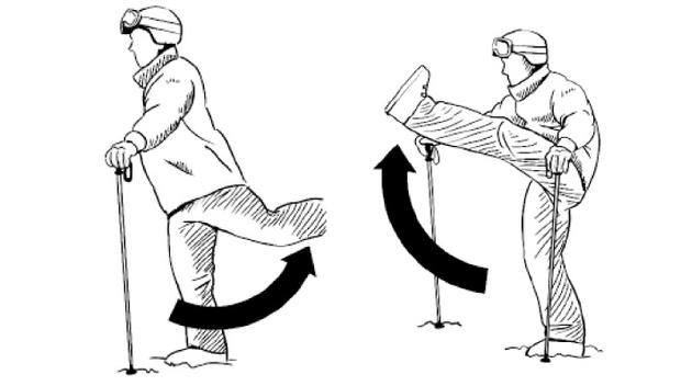 Фото №8 - Как правильно делать разминку лыжникам и сноубордистам