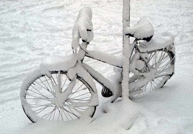 Фото №1 - Как подготовить велосипед к зимовке