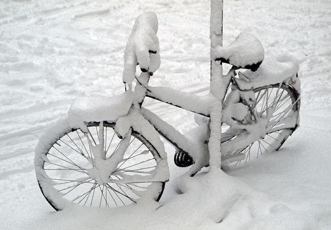 Как подготовить велосипед к зимовке