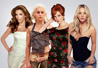 25 самых сексуальных актрис сериалов. Часть третья