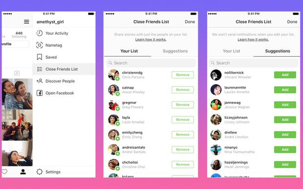 Фото №1 - Как работает функция «близких друзей» в Instagram