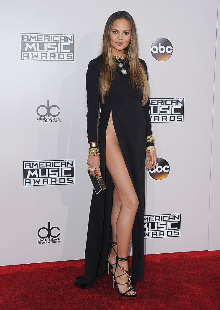 Фото №2 - Крисси Тейген в вагино-платье на церемонии American Music Awards