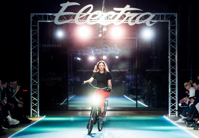 Подиум для велосипедов: модный показ Electra по случаю 25-летия бренда