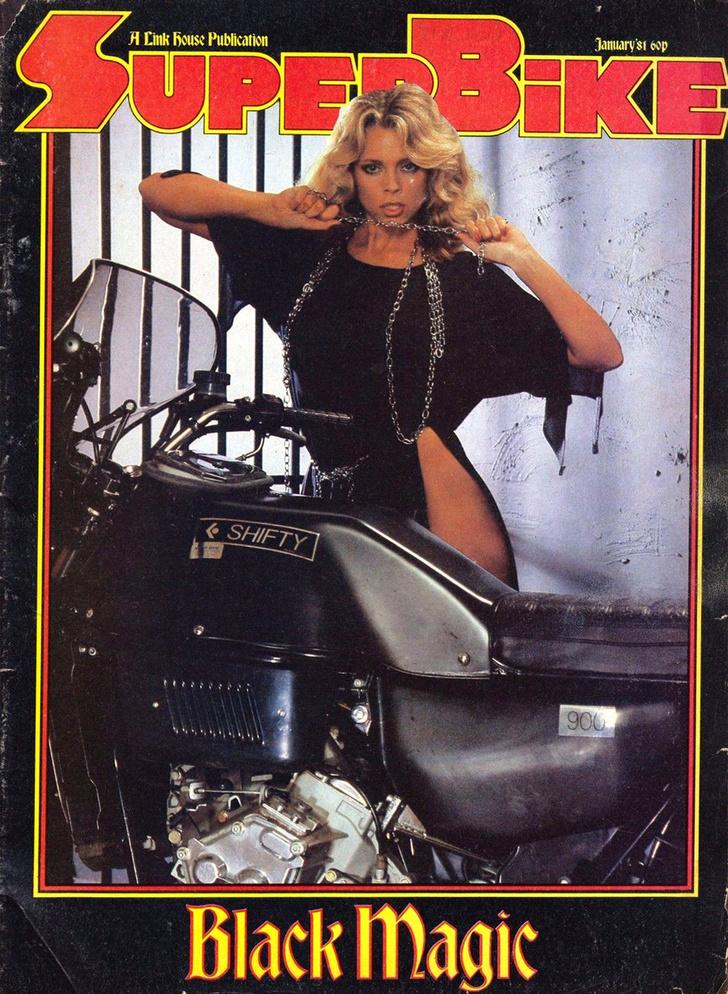 Фото №6 - Сексуальные девушки байкеров из 1980-х!