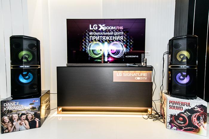 Компания LG Electronics представляет на российском рынке музыкальную аудиосистему FH6