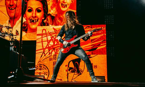 Фото №19 - Megadeth подняли температуру в Москве — посмотри и приобщись!