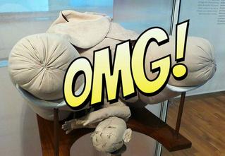 Анатомические куклы XVIII века, с помощью которых учились принимать роды