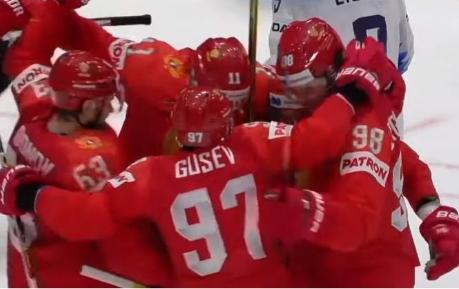 Россия-США — 4:3! Все голы победного матча в одном видео