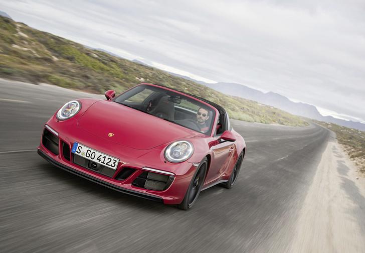 Фото №1 - Что значит надпись GTS на Porsche 911?