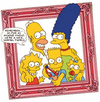 Симпсоны - идеальная американская семья