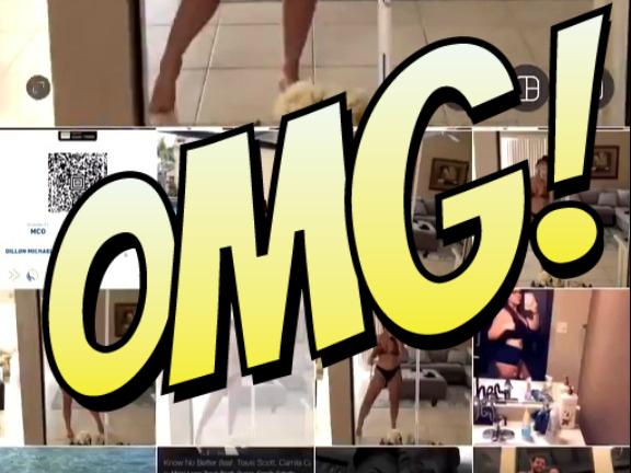 Фото №1 - Парень смастерил танцующее ВИДЕО из селфи своей девушки в бикини, и оно стало мегавирусным!