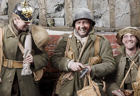 Питер Джексон раскрасил и озвучил хронику Первой мировой и собрал из нее документалку (видео)