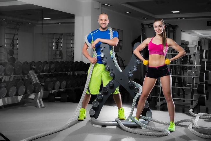 Фото №1 - Корригирующий тренинг от фитнес-сети X-Fit:  ПОСТАВЬ ПОЗВОНОЧНИК НА МЕСТО