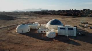 В Китае построили марсианскую базу