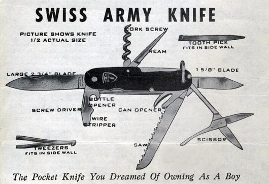 Фото №2 - 7 фактов о швейцарском ноже