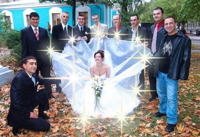 Фото №12 - 12 свадебных фотографий, которые не должны появиться в твоем альбоме!