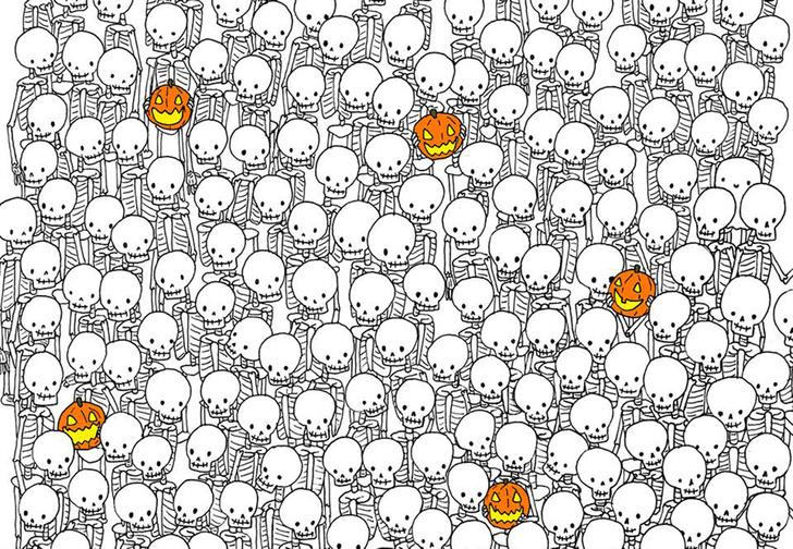 Фото №1 - Лучшая головоломка, чтобы отметить Хеллоуин: найди на этой картинке привидение