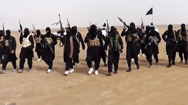 Боевики ИГИЛ из пропагандистского видео