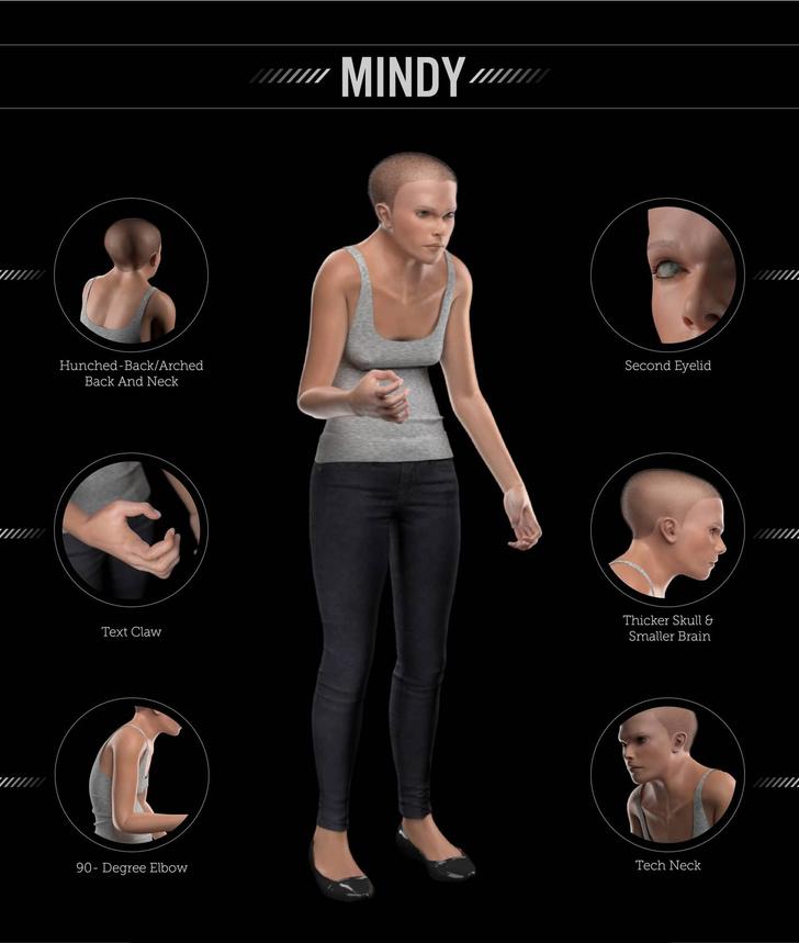 Фото №2 - Как будет выглядеть человек будущего, если верить этой 3D-модели