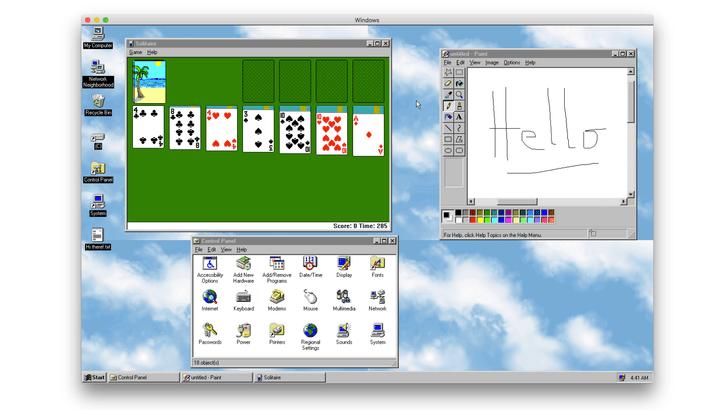 Фото №1 - Установи на свой компьютер Windows 95. Да-да, прямо в Windows 10