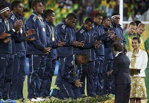 Сборная Фиджи одержала шесть побед в шести матчах турнира по регби на Олимпиаде в Рио