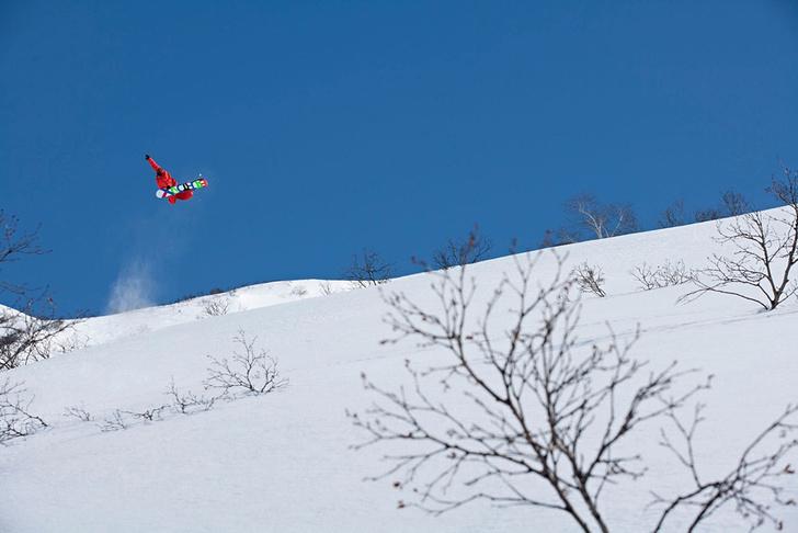 Камчатка  Самый стильный сноубордист