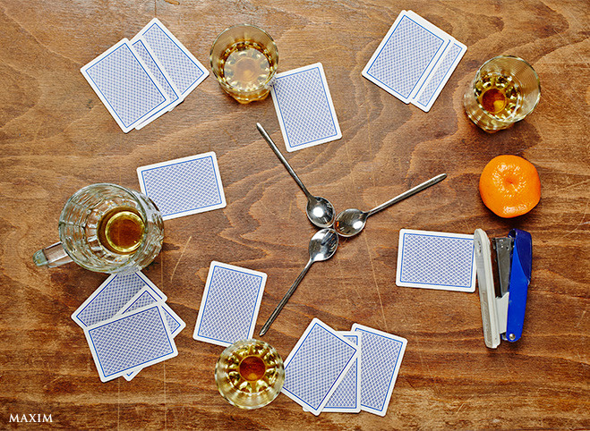 Алкогольная игра Ложки