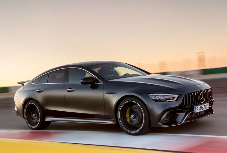 Фото №8 - Mercedes-AMG представляет ошеломительно быстрый гран-туризмо GT 4‑Door Coupe