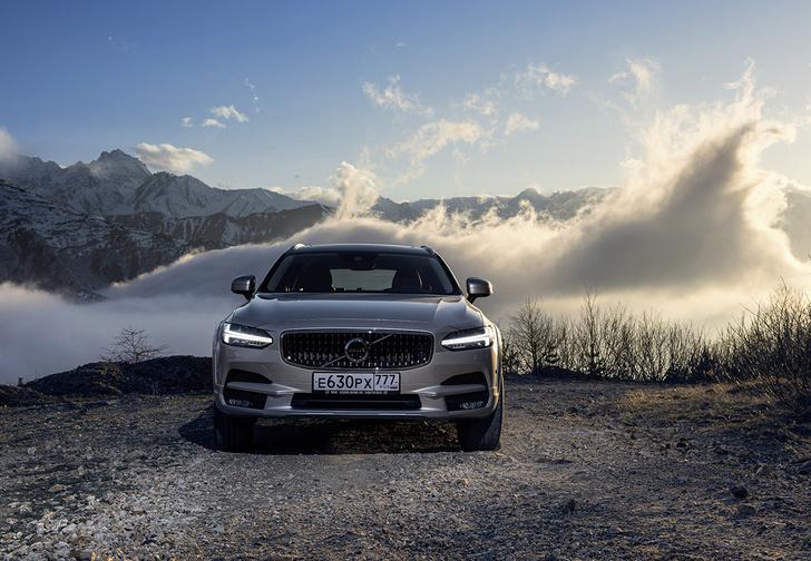 Фото №2 - Volvo V90 Cross Country: универсалы наносят ответный удар