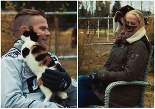 Кошка сорвала интервью, но от этого оно получилось только лучше (видео)
