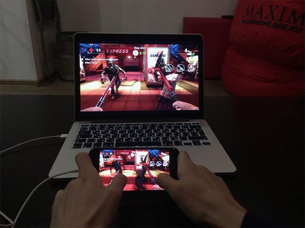 Игры для айфона на большом экране