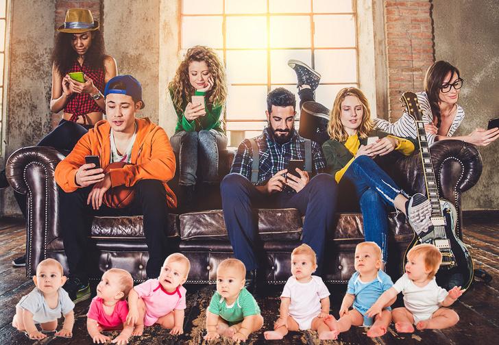 Фото №1 - Правительство предложило разработать «приложение для увеличения рождаемости»