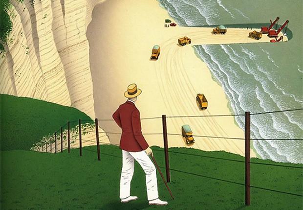 Фото №1 - 24 сюрриалистические карикатуры Ги Бийю