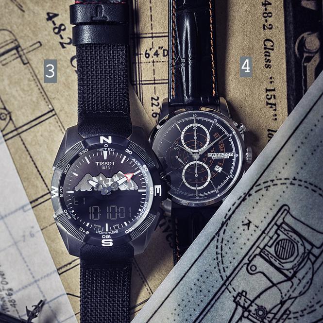 Машинист времени: четверка наручных часов, вдохновленных железной дорогой