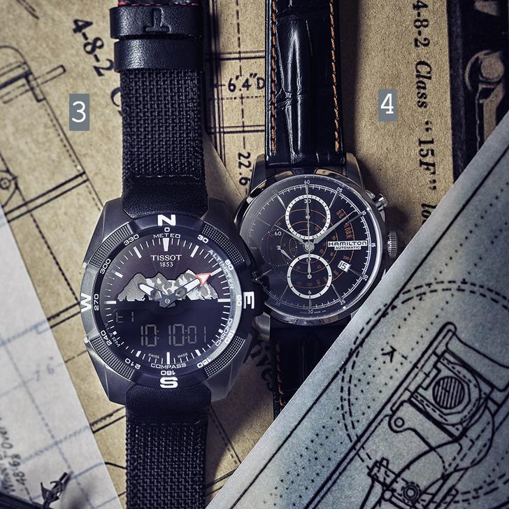 Фото №2 - Машинист времени: четверка наручных часов, вдохновленных железной дорогой