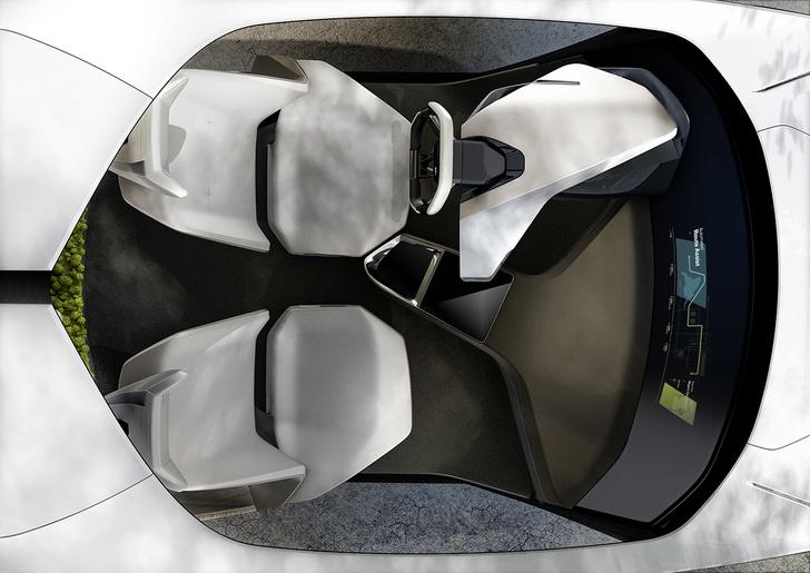 Фото №2 - BMW показала принципиально новый интерьер для беспилотных машин